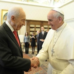Pope Francis President of Israel