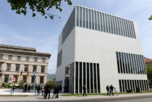 Image: Getty Images Unsparing Narrative: The museum's exhibits explain Munich's connections to Nazism.