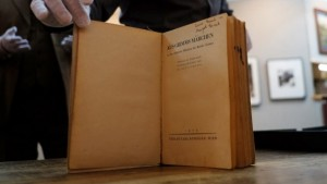 Anne and Margot Frank's copy of Grimm's Fairy Tales