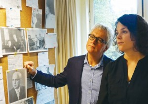 Prof. Wim Willems and historian Hanneke Verbeek's cooperation produced a book on interbellum Dutch Jews.