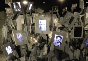 Exhibit at the Macedonia Holocaust Memorial Center in Skopje Photo By: BERNARD DICHEK