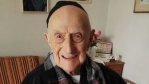 Holocaust survivor Yisrael Kristal, 112, confirmed in March 2016 as the oldest man in the world.